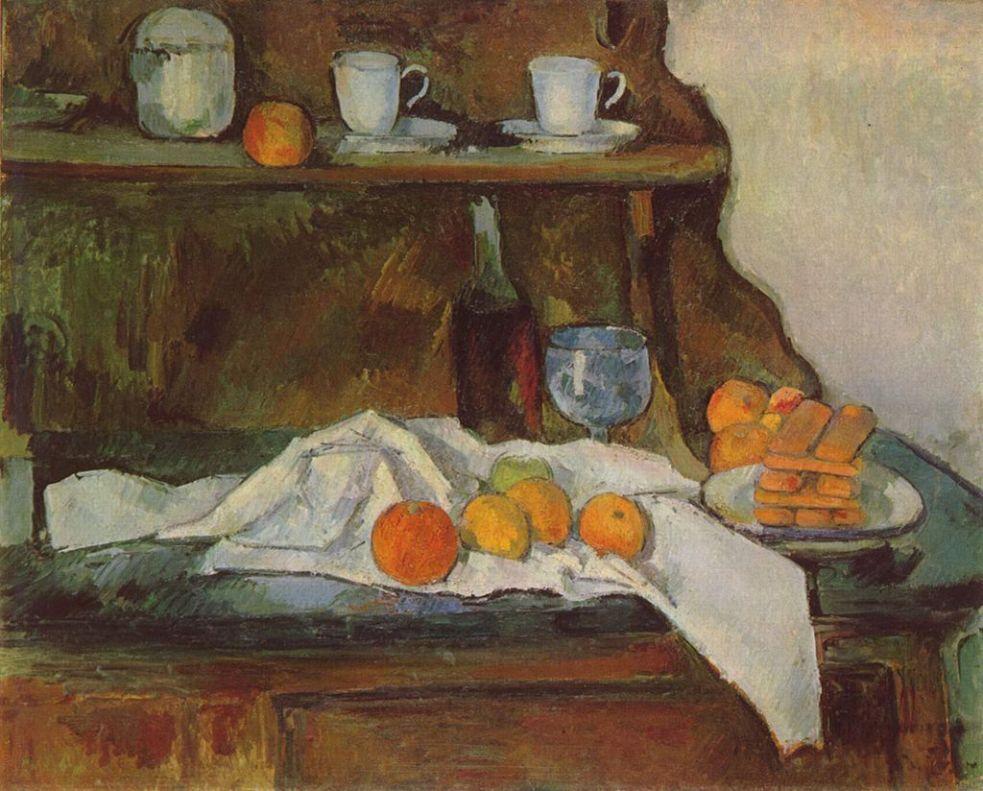 Le Buffet, Paul Cézanne